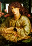 Dante Gabriel Rossetti (1828-1882)  La Donna della Finestra  Oil on canvas, 1879  74.3 x 101 cm (29¼